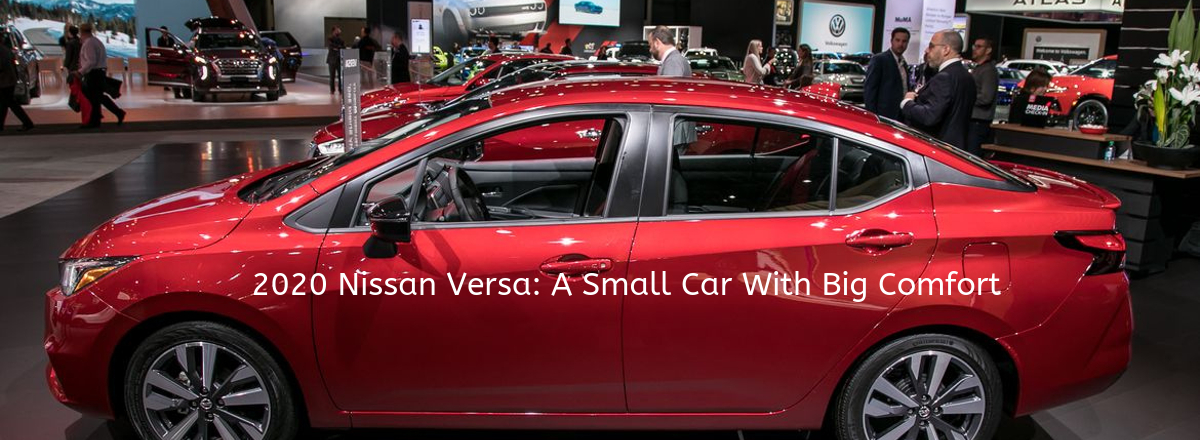 Nissan Doesn't Leave Innovation Behind for 2020 Nissan Versa as It Seems