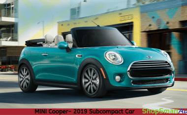 2019 MINI Cooper and 2019 Chevrolet Sonic: Choose the Better Subcompact Car